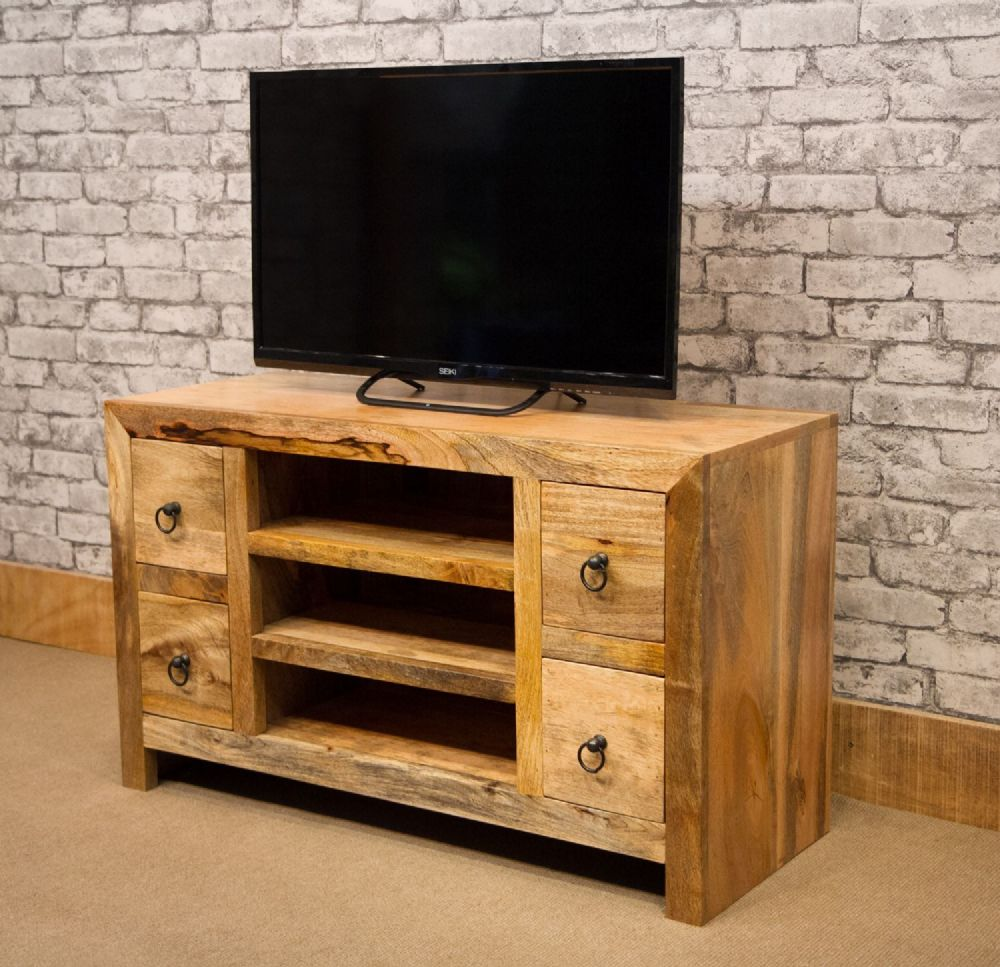 Mant 128 Stv 100cm Tv Cabinet With 4 Drawers